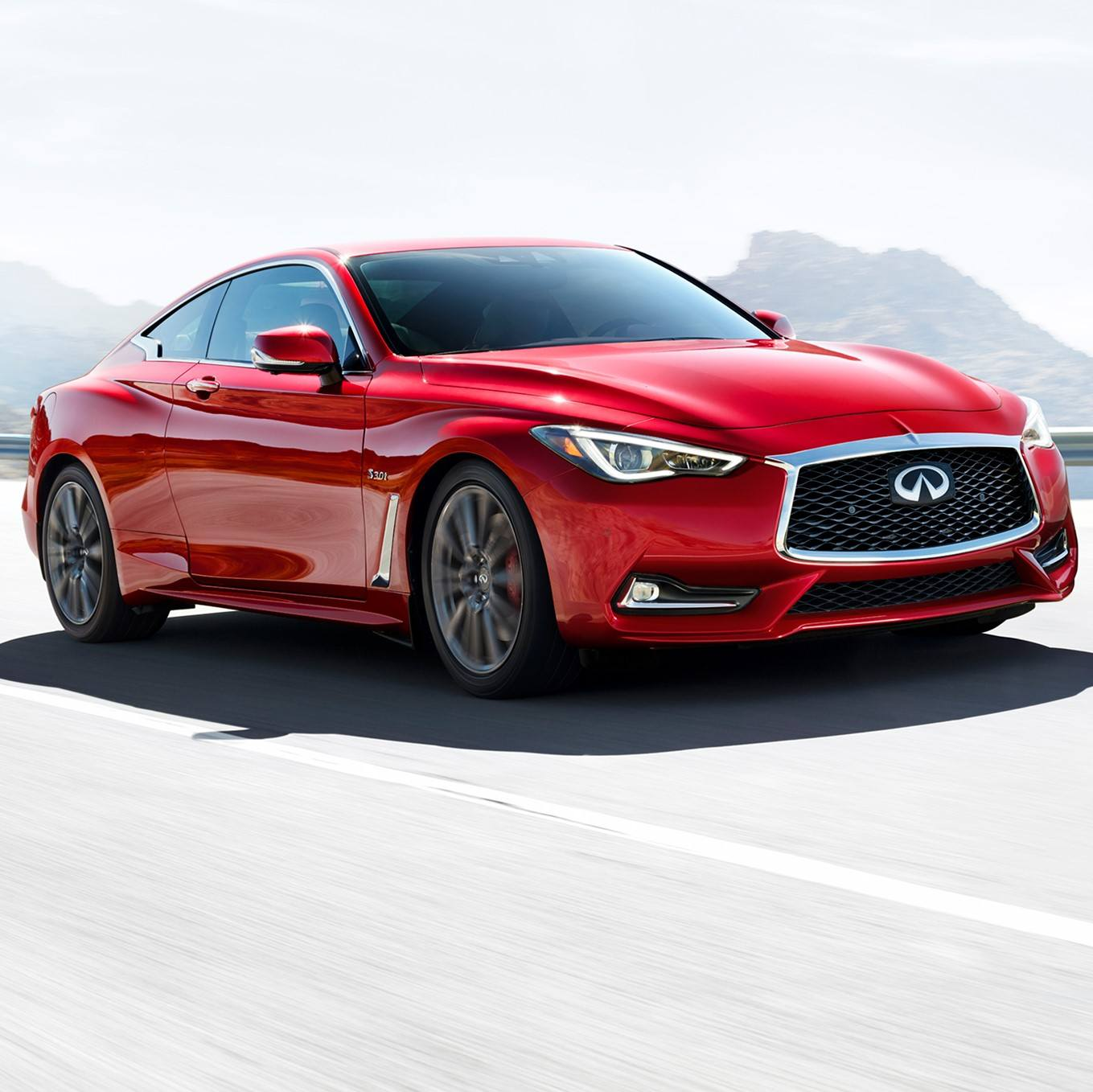 2019 Q60 3.0t Red Sport Demo